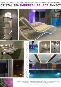Cristal spa Imperial palace 4 etoiles, spa 5 mondes Carita